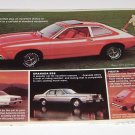 Vintage Ford Pinto Mailing Advertisement