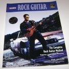 Beginning Rock Guitar : The Complete Rock Guitar Method by Paul Howard (1996,...