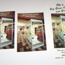 Ole's Big Game Lounge Brochure & 2 Postcards Paxton Nebraska