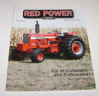 RED POWER IH & Farmall Enthusiasts Magazine january february 2011