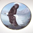 1993 Mario F. Fernandez WINGS OF WONDER Eagle Collector Plate Fingerhut