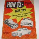 How To Hop Up Chevvy Ford Plymouth Magazine Fall 1954