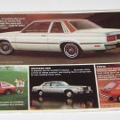 Vintage Ford Fairmont Mailing Advertisement