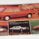 Vintage Ford Fiesta Mailing Advertisement