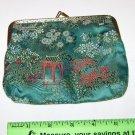 "Coin Purse ""Oriental Gardens"" motif"