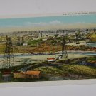 Vintage Postcard Midwest Oil Fields Wyoming