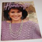 Country Handcrafter Bazaar 1987 Magazine w/ pullout pattern