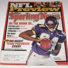 Sporting News Magazine NFL Preview Randy Moss cover september 6 1999