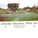 Vintage Postcard Connolly's Downtown Motel 3RD St Rochester MN
