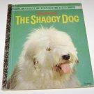 The Shaggy Dog Little Golden Book 1959 Walt Disney's