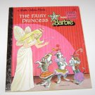 Vintage 1977 Little Golden Book SUPERSTAR BARBIE THE FAIRY PRINCESS