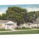 Vintage Postcard Court Chandler US 90 one mile west Pensacola FLorida