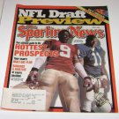 Sporting News Magazine Draft Day Peter Warwick LaVar Arrington cover april 3 2000