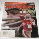 Sporting News Magazine Footballs 100 Greatest Players Jerry Rice Cover 1999
