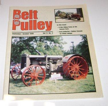Belt Pulley Farm Magazine Sept Oct 1998