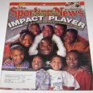 Sporting News Magazine Impact Players Derrick Brooks Cover july 31 2000