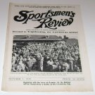 Sportsmen's Review Trapshooting Magazine october 1 1952