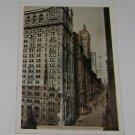 "Vintage Postcard ""THe Broadway Canyon"" New York City"