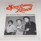 Sportsmen's Review Trapshooting Magazine february 1 1955