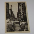 Vintage Postcard Famous Fifth Avenue New York NY as seen from open tour bus