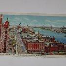 Vintage Postcard Tudor City Welfare Island & East River New York City