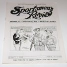 Sportsmen's Review Trapshooting Magazine august 2 1952