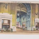 Vintage Postcard Union Station Lobby Kansas City Missouri