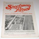 Sportsmen's Review Trapshooting Magazine january 15 1952