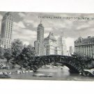 Vintage Postcard Central Park at 59th Str New York City
