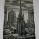 Vintage Postcard Trinity Church New York City 1930's