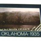 "Historic Postcard Dust Storm Texhoma Oklahoma ""Reproduction"""