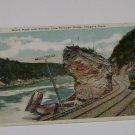 Vintage Postcard Trolley Line Gorge Niagara Falls