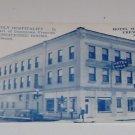 Vintage Postcard Hotel Magil Downtown Fremont Nebraska