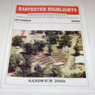 Harvester Highlights Magazine International Harvester Collectors October 2000