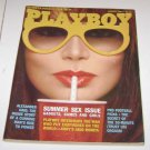Playboy Magazine August 1982