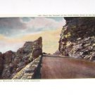 Vintage Postcard  Near Summit of Trail Ridge Road Rocky MT Nat Park Colorado