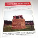 Harvester Highlights Magazine International Harvester Collectors January 2002