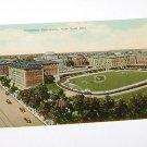 Vintage Postcard Columbia University Baseball Field surrounding buildings 1930's