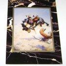 "Postcard William Robinson Leigh ""A Double Crosser"""
