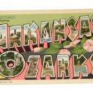 """Vintage Postcard """"Greetings"""" Arkansas Ozarks"""
