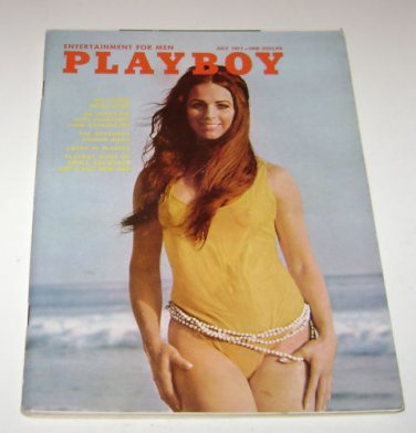 Playboy Magazine July 1971