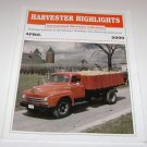 Harvester Highlights Magazine International Harvester Collectors April 2000
