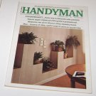 Handyman Magazine February 1975 Decorate w Planters Repair Copper Plumbing