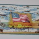 "Operation Desert Storm Postcard ""Persian Gulf"""