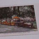 Vintage Postcard Miniature Train Elitch's Gardens Denver Colorado