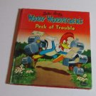 Vintage 1951 Woody Woodpecker's Peck of Trouble Tell a Tale Whitman Book