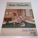 Home Desirable Winter 1950 Crane Heating Brochure Alf E. Olson Wahoo Nebraska