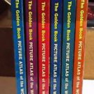 The Golden Book Picture Atlas of the World 6 volume set