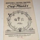 Univeristy of Nebraska Crop Plants 1950's Brochure