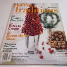 Holiday Traditions Womens Day Magazine Recipes Decoratating Creating Gifts